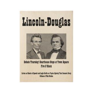 Lincoln-Douglas Poster