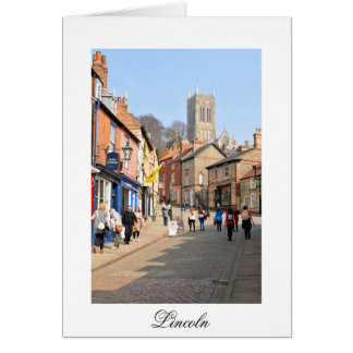 Lincoln, England Card