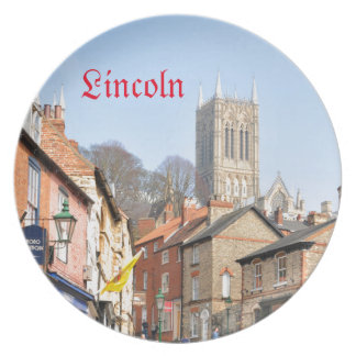 Lincoln, England Party Plates