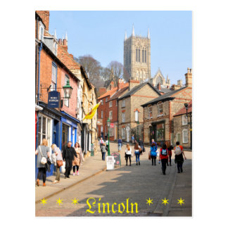 Lincoln, England Postcard