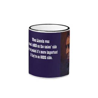Lincoln & God Mugs