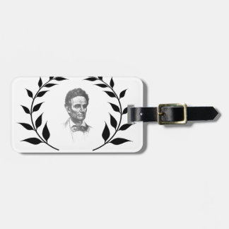 lincoln honor luggage tag