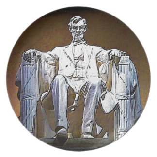 Lincoln II Party Plate