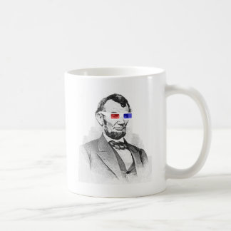 Lincoln In 3D Coffee Mugs