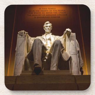 Lincoln Memorial At Night - Washington D.C. Drink Coasters
