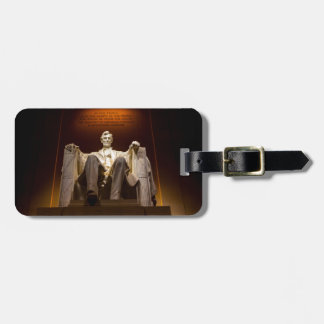 Lincoln Memorial At Night - Washington D.C. Luggage Tag