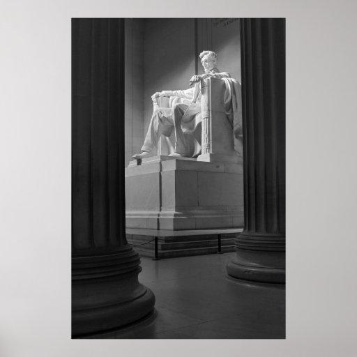 Lincoln Memorial B&W Print