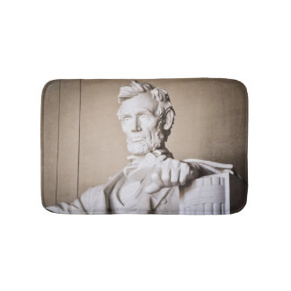 Lincoln Memorial in Washington DC Bath Mat