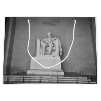 Lincoln Memorial in Washington DC Large Gift Bag