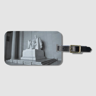 Lincoln Memorial in Washington DC Luggage Tag