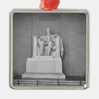 Lincoln Memorial in Washington DC Metal Ornament