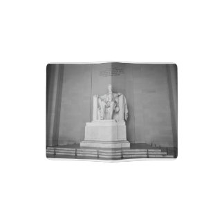 Lincoln Memorial in Washington DC Passport Holder