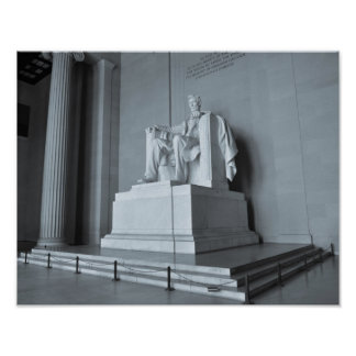 Lincoln Memorial in Washington DC Poster