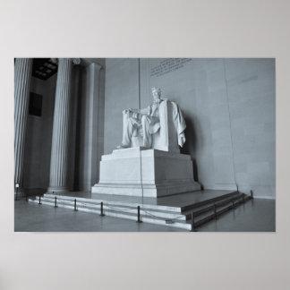 Lincoln Memorial in Washington DC Poster