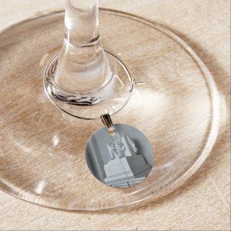 Lincoln Memorial in Washington DC Wine Charm