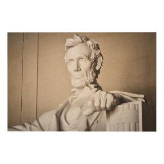 Lincoln Memorial in Washington DC Wood Wall Art