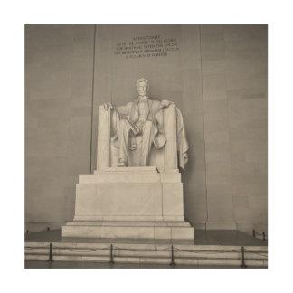 Lincoln Memorial in Washington DC Wood Wall Decor