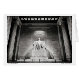Lincoln Memorial- Interior Card