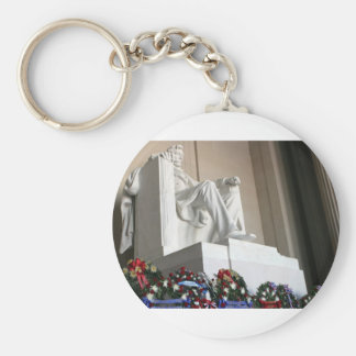 lincoln memorial Lincoln Status Key Chains
