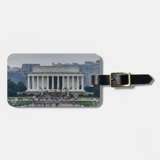 Lincoln Memorial Luggage Tag
