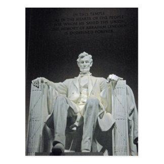 Lincoln Memorial Washington DC 001 Postcard