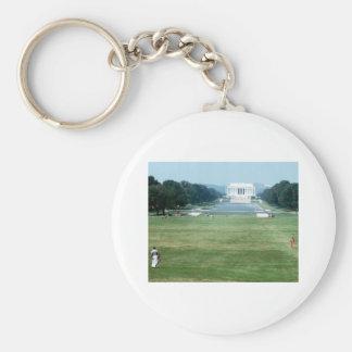 Lincoln Memorial Washington DC Nations capital Key Chain
