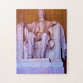 Lincoln Memorial Washington. Jigsaw Puzzle