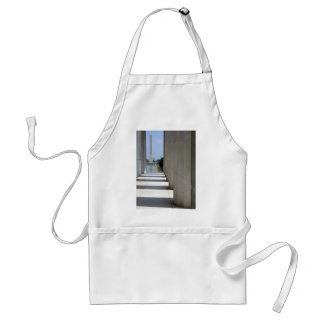 lincoln memorial washington monument aprons