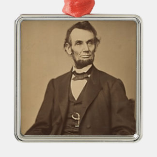 Lincoln Metal Ornament