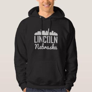 Lincoln Nebraska Skyline Hoodie