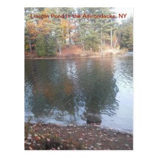LIncoln Pond Postcard