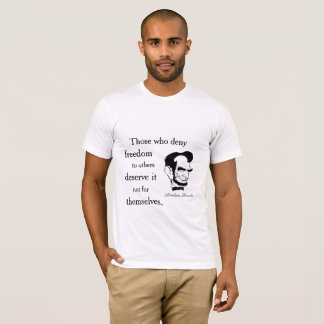 Lincoln quote on freedom T-Shirt