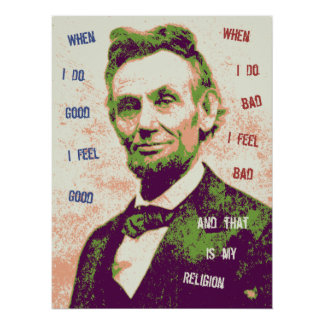 Lincoln-Religion-LG Posters