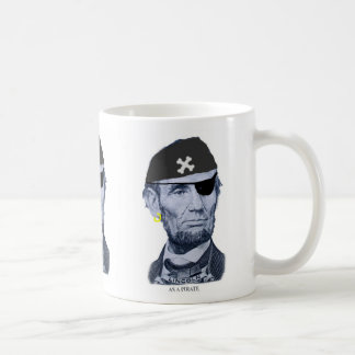 Lincoln the Pirate mug