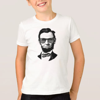 Lincoln Wearing Sunglasses T-Shirt
