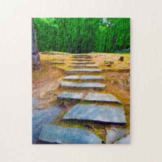 Lincoln Woods Rhode Island. Jigsaw Puzzle