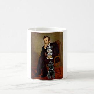 Lincolnd's Two Schnauzers Coffee Mug
