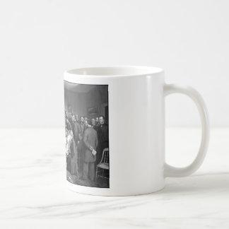 Lincoln's Deathbed Coffee Mug