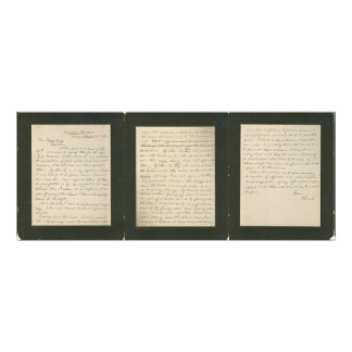 Lincoln's Famous Letter to Greeley Photo Art