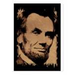 Lincoln's Mug Postcard