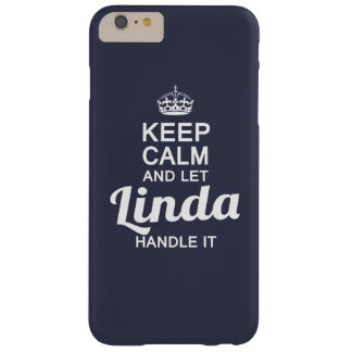Linda handle it! barely there iPhone 6 plus case
