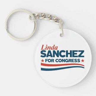 Linda Sanchez Key Ring