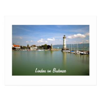 Lindau im Bodensee in Germany - Postcard