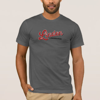 Linden Longboards Gray T T-Shirt