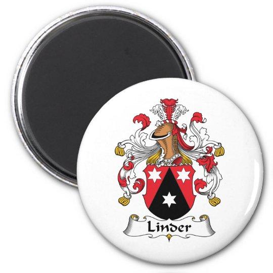 Linder Family Crest Magnet