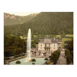Linderhof Castle, Bavaria, Germany Postcard