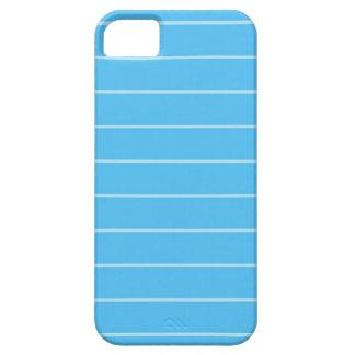Lindo textura con lineas  celestes par a tu iPhone iPhone 5 Covers
