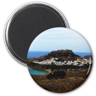 Lindos, Rhodes, Greece Magnet
