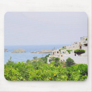 Lindos view Mouse Pad