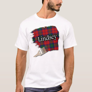 Lindsey Clan Lindsay Scottish Tartan Paint Shirt